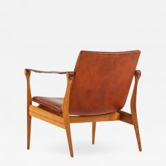 Karen Ebbe Clemmensen Easy Chair Produced by Fritz Hansen - 1987696