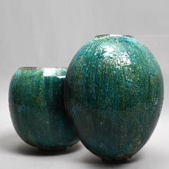 Karen Swami TURQUOISE 18 Ceramic bowl - 1097789