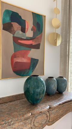 Karen Swami TURQUOISE 20 Ceramic bowl - 1097810