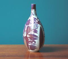 Kari Christensen Faience Bottle Vase by Kari Christensen for Royal Copenhagen - 690340