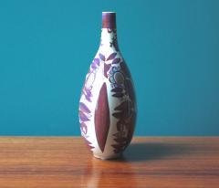 Kari Christensen Faience Bottle Vase by Kari Christensen for Royal Copenhagen - 690342