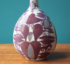 Kari Christensen Faience Bottle Vase by Kari Christensen for Royal Copenhagen - 690343