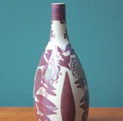 Kari Christensen Faience Bottle Vase by Kari Christensen for Royal Copenhagen - 690345