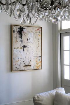 Karina Gentinetta Changes of Seasons Original Abstract Painting in Earth Tones 48 x 36  - 1707859