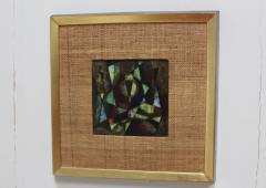Karl Drerup Enamel On Copper Artwork By Karl Drerup - 768323