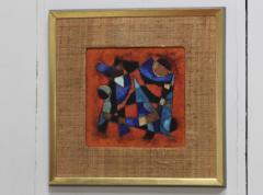 Karl Drerup Karl Drerup Enamel On Copper Abstract Art Work - 768271