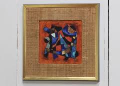 Karl Drerup Karl Drerup Enamel On Copper Abstract Art Work - 768272