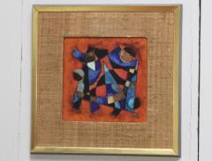 Karl Drerup Karl Drerup Enamel On Copper Abstract Art Work - 768273