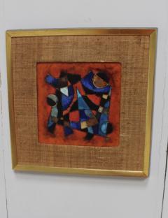 Karl Drerup Karl Drerup Enamel On Copper Abstract Art Work - 768278