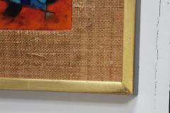 Karl Drerup Karl Drerup Enamel On Copper Abstract Art Work - 768281