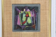 Karl Drerup Karl Drerup Enamel On Copper Modern Artwork - 768286