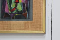 Karl Drerup Karl Drerup Enamel On Copper Modern Artwork - 768287