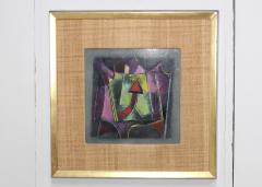 Karl Drerup Karl Drerup Enamel On Copper Modern Artwork - 768288
