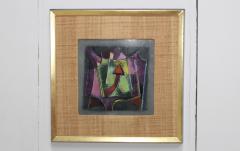 Karl Drerup Karl Drerup Enamel On Copper Modern Artwork - 768289