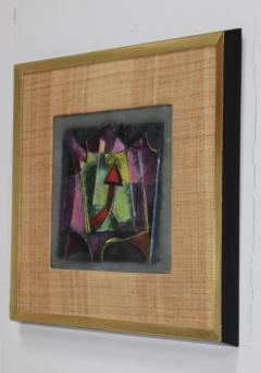 Karl Drerup Karl Drerup Enamel On Copper Modern Artwork - 768290