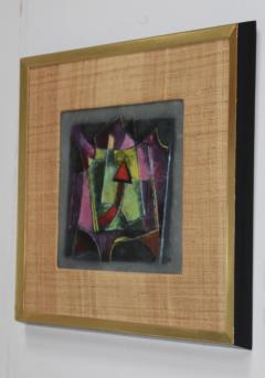 Karl Drerup Karl Drerup Enamel On Copper Modern Artwork - 768291