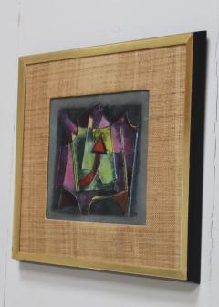 Karl Drerup Karl Drerup Enamel On Copper Modern Artwork - 768292