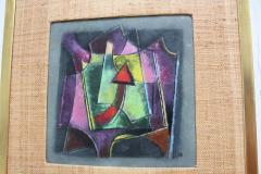 Karl Drerup Karl Drerup Enamel On Copper Modern Artwork - 768293