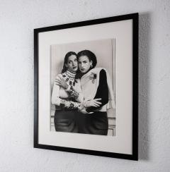 Karl Lagerfeld Original photograph of two models by Karl Lagerfeld - 1768143