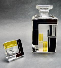 Karl Palda Art Deco Decanter Drinking Whiskey Set Karl Palda Style - 1601135