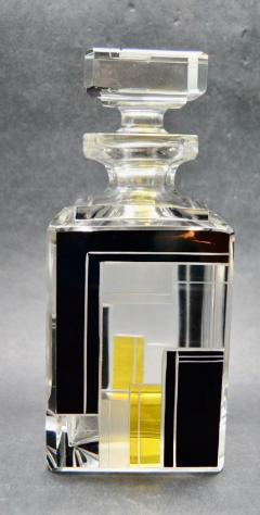 Karl Palda Art Deco Decanter Drinking Whiskey Set Karl Palda Style - 1601138