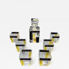 Karl Palda Art Deco Decanter Drinking Whiskey Set Karl Palda Style - 1601785