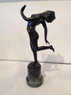 Karl Perl K Perl Austrian Deco Bronze - 95060