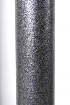 Karl Springer 1970 s Stainless Steel Oversized Torchiere Floor Lamps - 1793480