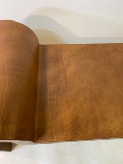 Karl Springer EXCEPTIONAL AND RARE SIGNED KARL SPRINGER LEATHER BENCH - 1910311