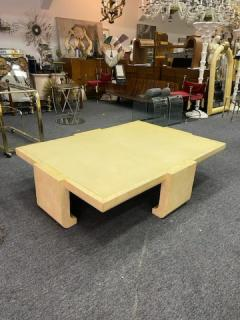 Karl Springer EXCEPTIONAL MODERN LACQUER COFFEE TABLE IN THE MANNER OF KARL SPRINGER - 1909805