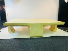 Karl Springer EXCEPTIONAL MODERN LACQUER COFFEE TABLE IN THE MANNER OF KARL SPRINGER - 1909808