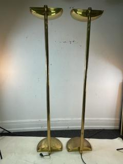 Karl Springer EXCEPTIONAL TALL PAIR OF MODERN FLOOR LAMPS - 2124181