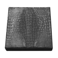 Karl Springer Karl Springer Box with Crocodile Cover 1970s - 2061687