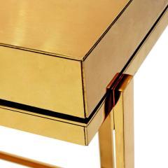 Karl Springer Karl Springer Brass and Lucite Bar Cart 1980s - 1965760