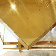 Karl Springer Karl Springer Brass and Lucite Bar Cart 1980s - 1965812