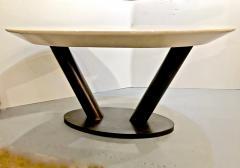 Karl Springer Karl Springer Lacquered Goatskin Table - 1376044