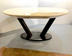 Karl Springer Karl Springer Lacquered Goatskin Table - 1376046