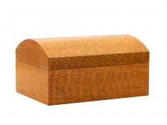 Karl Springer Karl Springer Lacquered Snakeskin Decorative Box - 192733