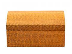 Karl Springer Karl Springer Lacquered Snakeskin Decorative Box - 192735