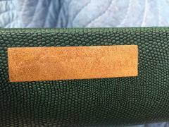 Karl Springer Karl Springer Leather Coffee Table Signed - 421635