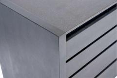 Karl Springer Karl Springer Lizard Skin Dresser with Stone tops - 1185963