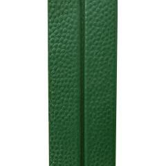 Karl Springer Karl Springer Pair of Floor Lamps in Green Emu Leather 1970s - 2068390