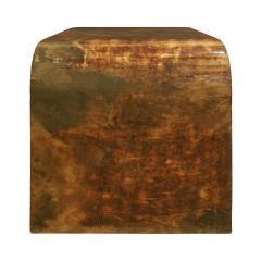 Karl Springer Karl Springer Petit Coffee Table In Lacquered Goatskin 1970s - 1026512