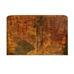 Karl Springer Karl Springer Petit Coffee Table In Lacquered Goatskin 1970s - 1026514