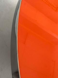 Karl Springer Karl Springer Red Stainless Steel Dining Table - 1308182