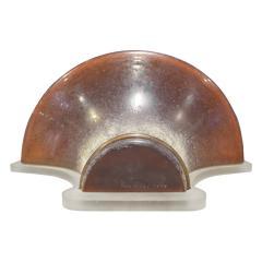 Karl Springer Karl Springer Venetian Glass Wall Sconce 1980s Signed  - 1198701