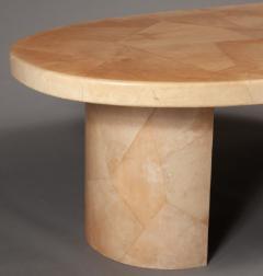 Karl Springer LTD Karl Springer Goatskin Dining Table - 1702220
