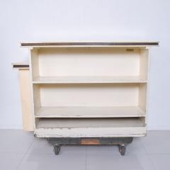 Karl Springer LTD Karl Springer Ltd Dry Bar Service Cabinet Lacquered Goatskin Parchment 1980 - 1887320