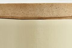 Karl Springer Lacquered Grasscloth Credenza attributed to Enrique Garcel circa 1970 - 1958378