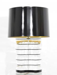 Karl Springer Lucite and Acrylic Table Lamp by Clear Lite - 1456343